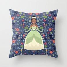 Tiana Throw Pillow