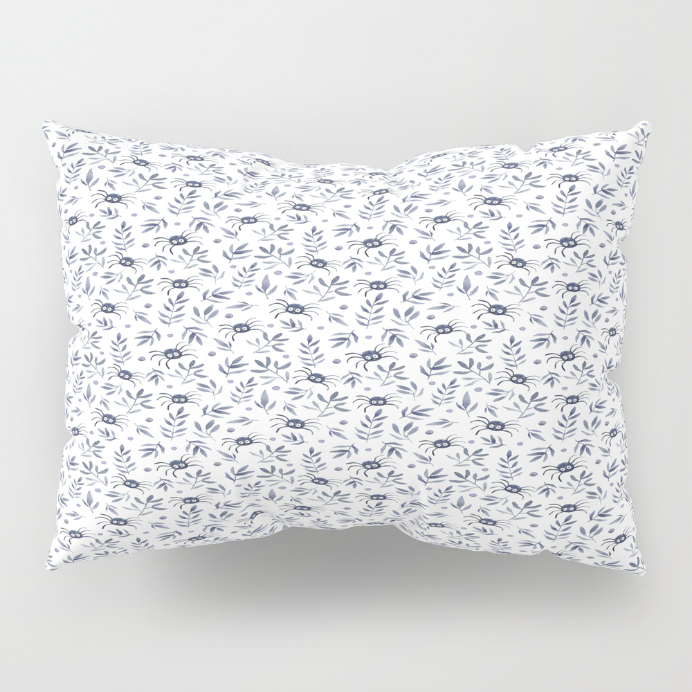 Spiders Forest Pillow Sham by Kaixo PSH7611622