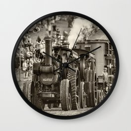 Traction Power Wall Clock
