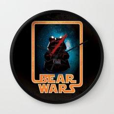 Bear Wars - Darth Teddy Wall Clock