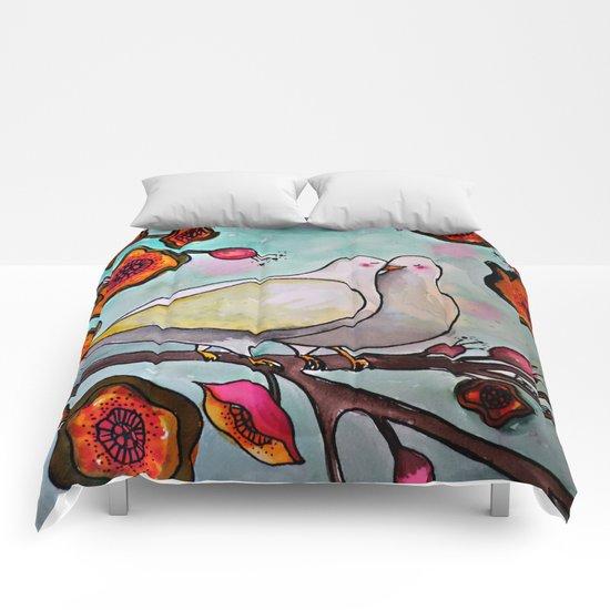 le temps des cerises Comforters