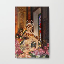 Our Lady of Piety Metal Print