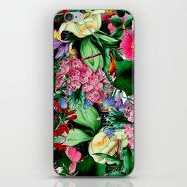Vintage Floral bouquet iPhone Skin