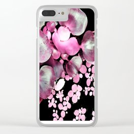 water plants dreams Clear iPhone Case