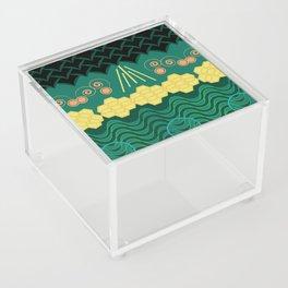 Rainforest HARMONY pattern Acrylic Box