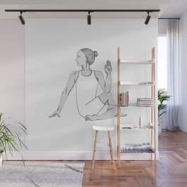 yoga pose 6 Wall Mural