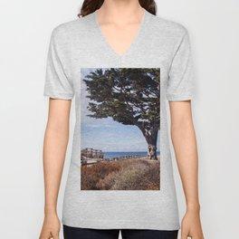 Enchanted beach Unisex V-Neck