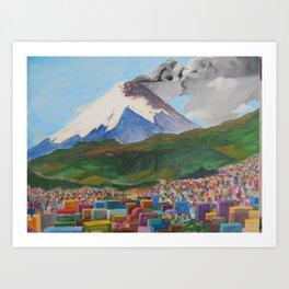 Cotopaxi, Ecuador Art Print