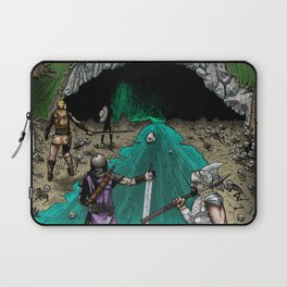Party Approaching Cave Laptop Sleeve