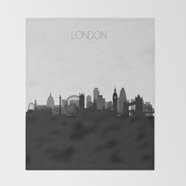 City Skylines: London Throw Blanket