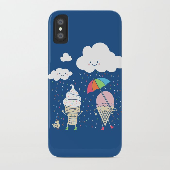 Cloudy With A Chance of Sprinkles iPhone Case