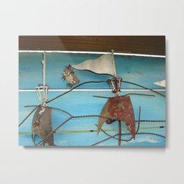 Sailng Wasp Nest Metal Print