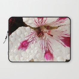 Flowers in the Summer Rain Laptop Sleeve