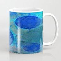 nautical Mugs featuring Nautical by JuniqueStudio