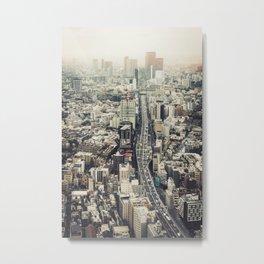 From Roppongi to Shibuya Metal Print