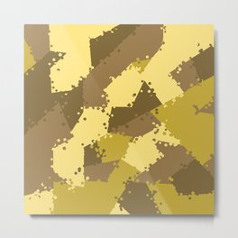 Camouflage desert 2 Metal Print