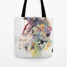 scentless flowers Tote Bag
