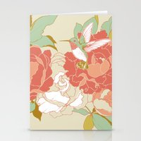 party Stationery Cards featuring garden party by Teagan White
