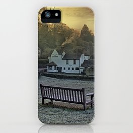 Loose Hill And Chequers iPhone Case