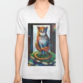 LOST in INDIA Unisex V-Neck