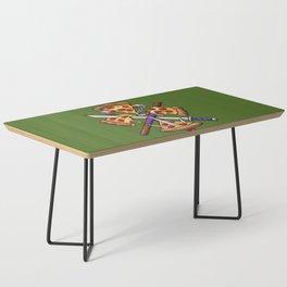 Ninja Pizza Coffee Table