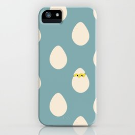 Eggos iPhone Case