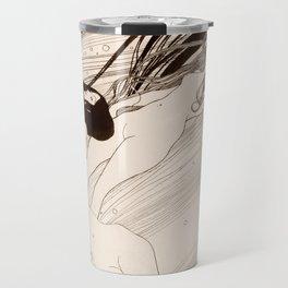 "Gustav Klimt ""Fish Blood"" Travel Mug"