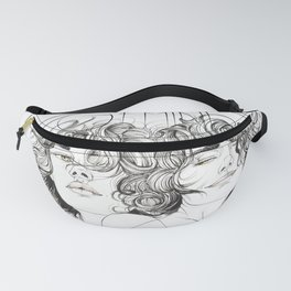 Gemini Zodiac (The Twins) Fanny Pack