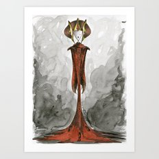 Queen Amidala Art Print
