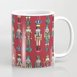 The Nutcracker Prince Pattern Red Coffee Mug