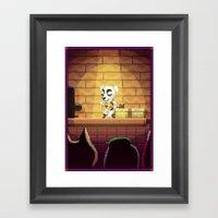Pixel Art series 1 : Little Song Framed Art Print
