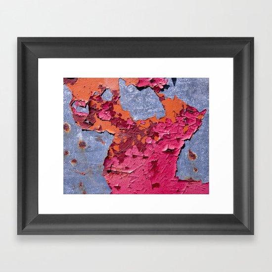 3 Paints Framed Art Print