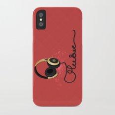Music Slim Case iPhone X