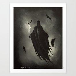 Dementors - HarryPotter | Painting Art Print