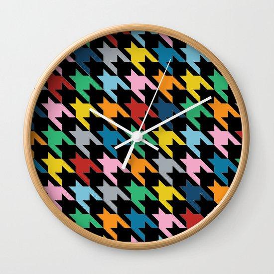 Black Dog T Wall Clock