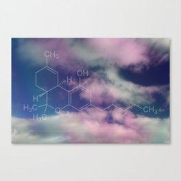 THC (Tetrahydrocannabinol) Canvas Print