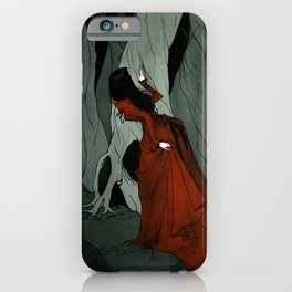 Snow White Lost in the Woods iPhone Case