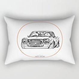Crazy Car Art 0002 Rectangular Pillow