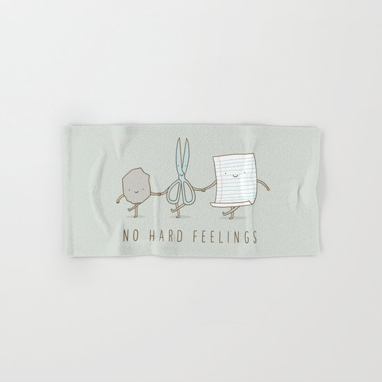 No Hard Feelings Hand & Bath Towel