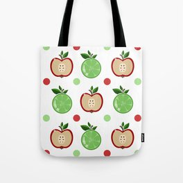 Apples and Lime Tote Bag