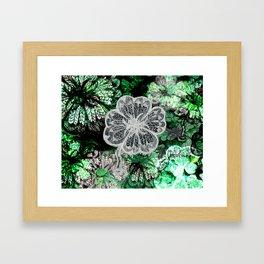 get friends get lucky Framed Art Print