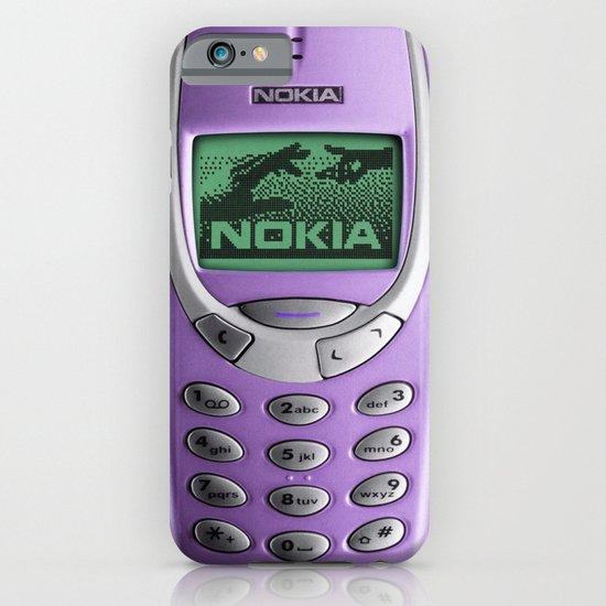 OLD NOKIA Purple iPhone & iPod Case