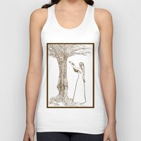 merlin Tank Tops featuring Nimue & Merlin by TheScienceofDepiction