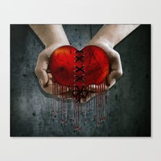 The Resilient Heart Canvas Print