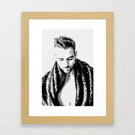 Sleeping Prince Framed Art Print