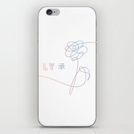 bts love yourself iPhone Skin