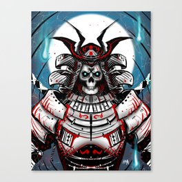 Undead Samurai Canvas Print