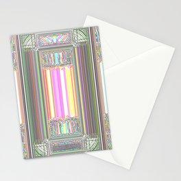 Moderne Glitch Stationery Cards