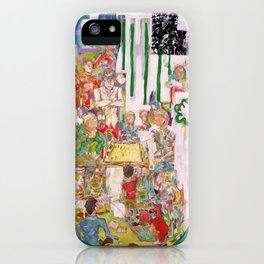 La jugada del loco (Comprova) iPhone Case