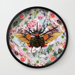 King of Insects - Serie 3 Wall Clock